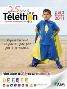 Téléthon à Ruelle / Touvre