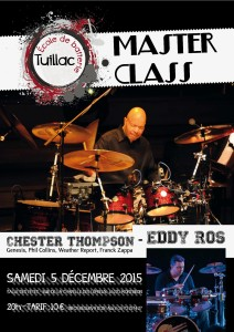 Affiche Chester Thompson - 001-1